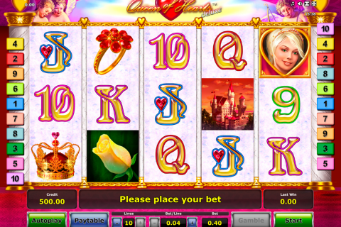 queen of hearts delue novomatic slot