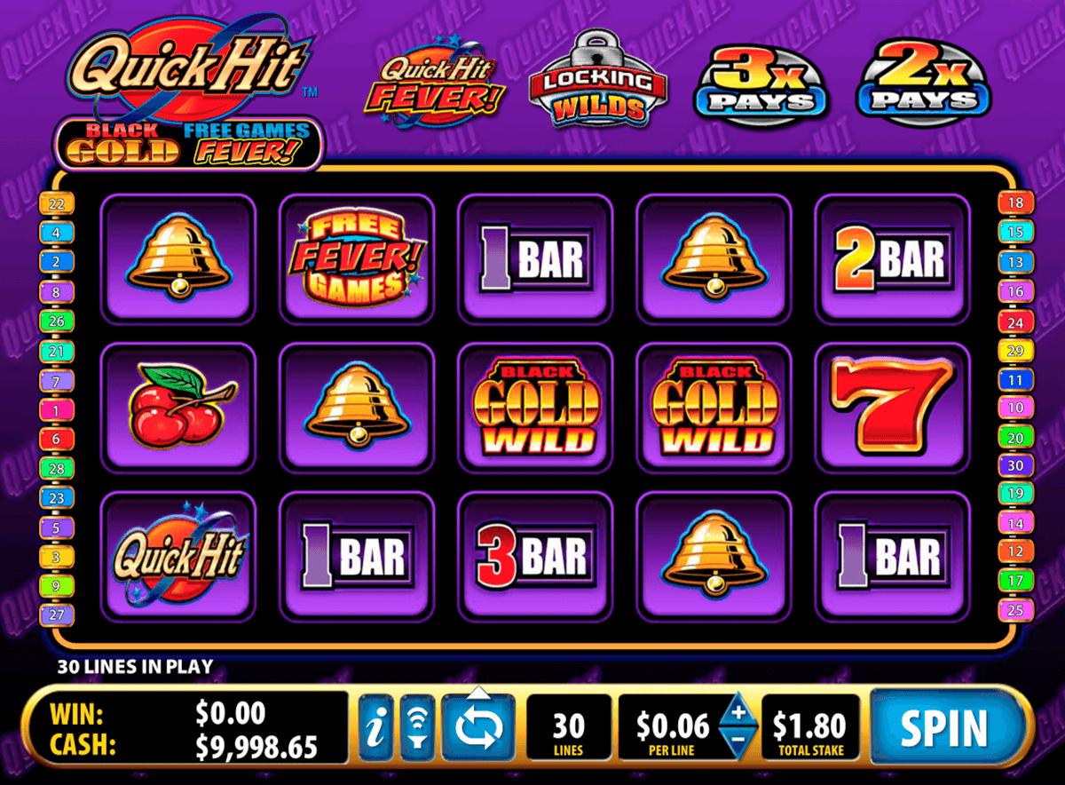 Quick Hit Black Gold Online Slot Sa Play Free Bally Slots For Fun