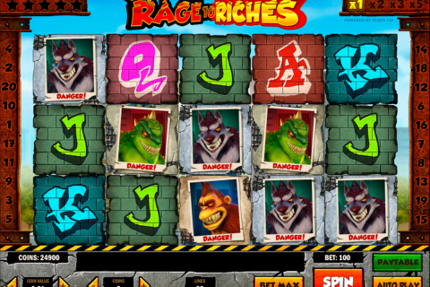rage to riches playn go slot