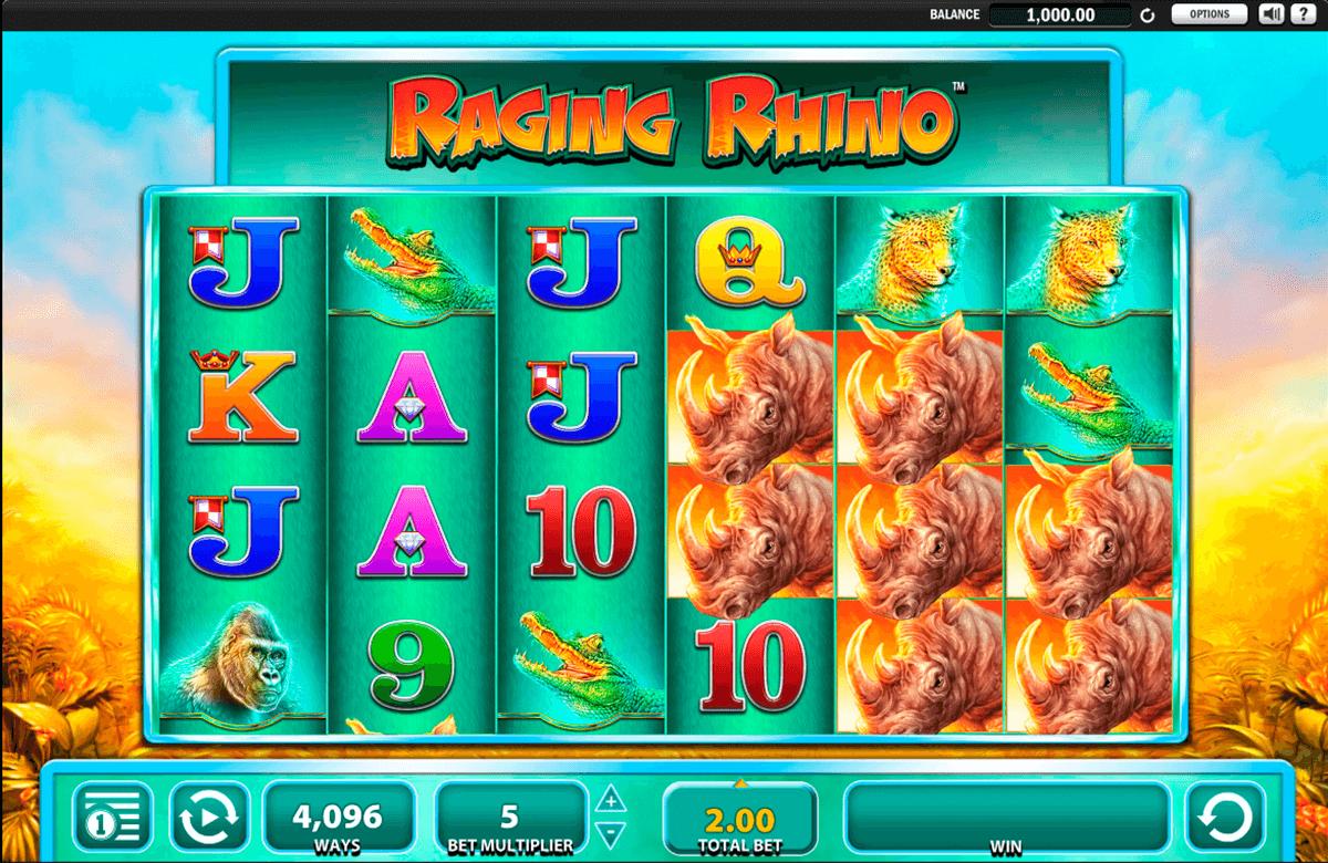 raging rhino wms slot
