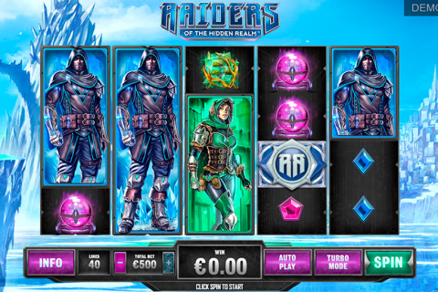 raiders of the hidden realm playtech slot