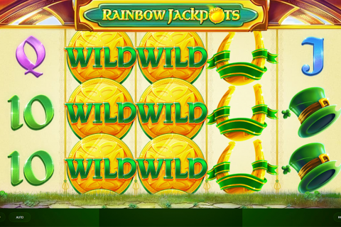 rainbow jackpots red tiger slot