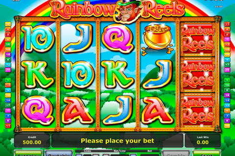 rainbow reels novomatic slot