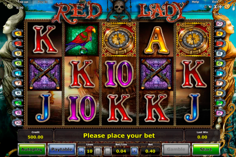 red lady novomatic slot