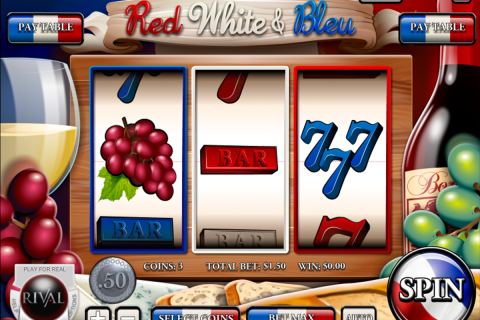 red white bleu rival slot