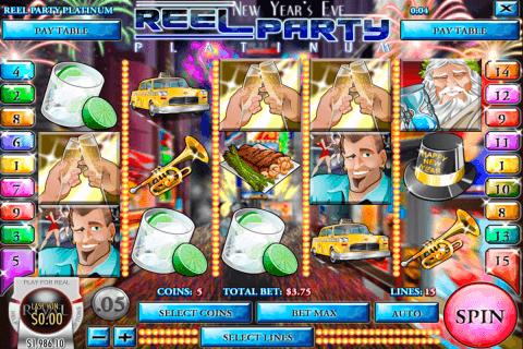 reel party platinum rival slot