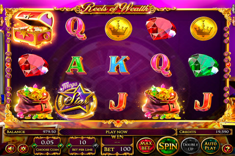 reels of wealth betsoft slot