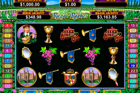 regal riches rtg slot