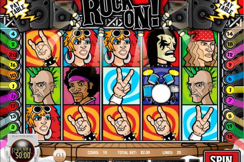 rock on rival slot