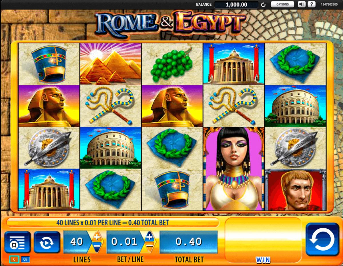 rome egypt wms slot
