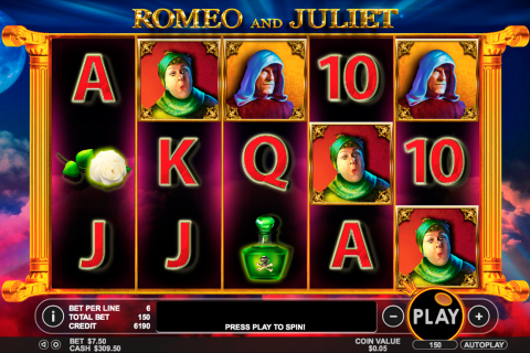 romeo and juliet pragmatic slot