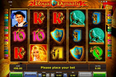 royal dynasty novomatic slot
