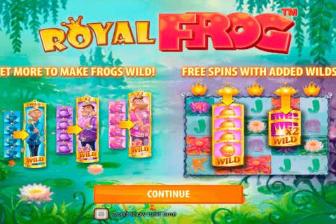 royal frog quickspin slot