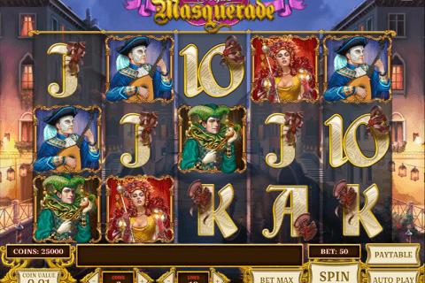 royal masquerade playn go slot