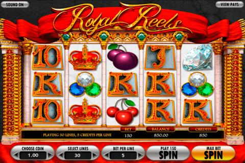 royal reels betsoft slot