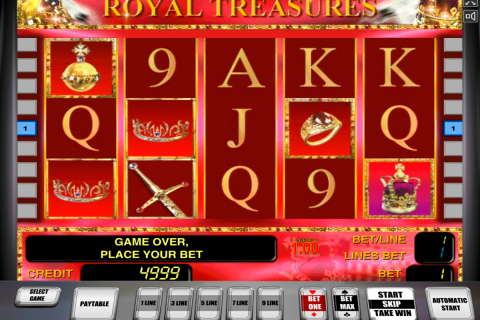 royal treasures novomatic slot