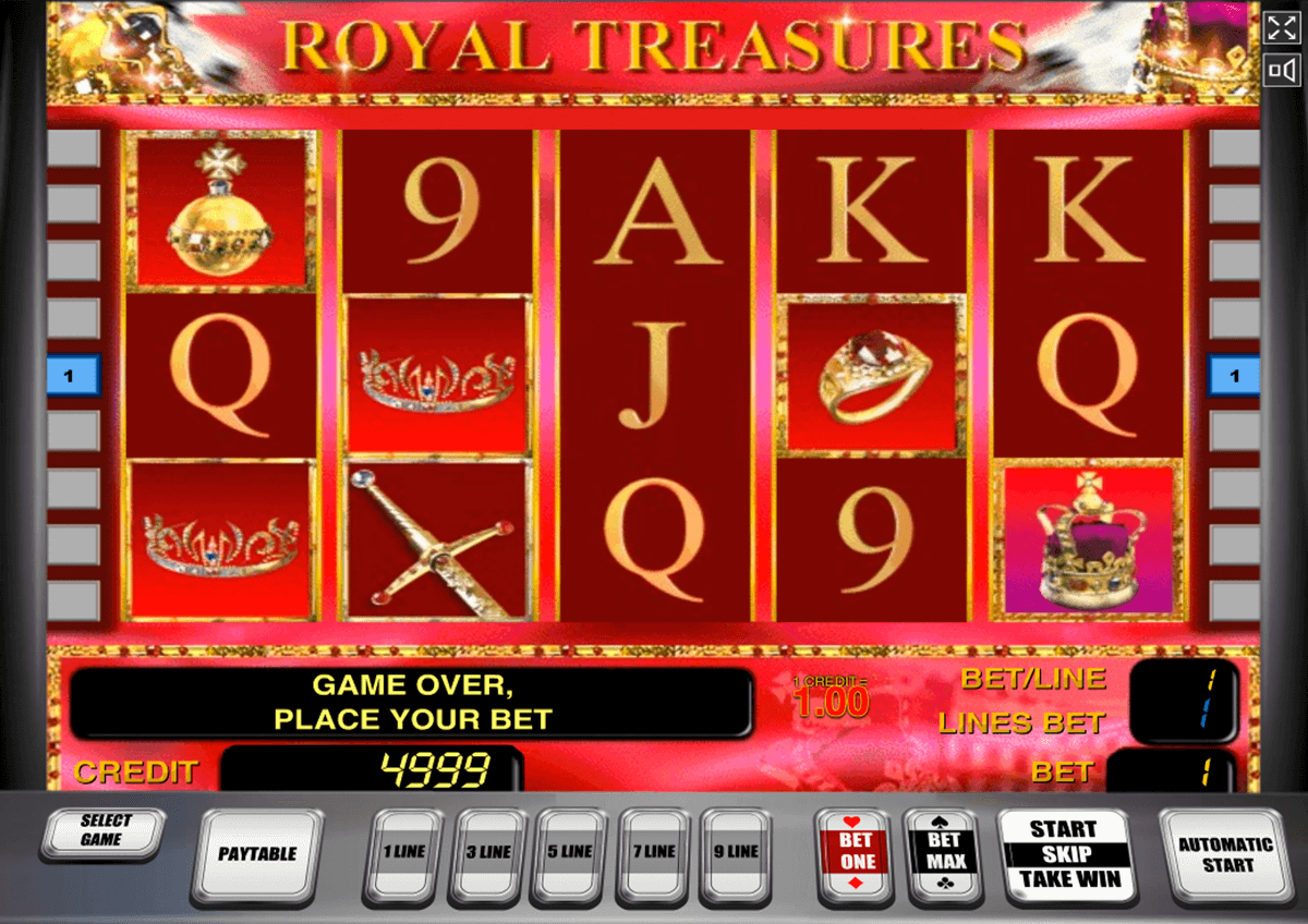 Spiele Royal Treasures - Video Slots Online