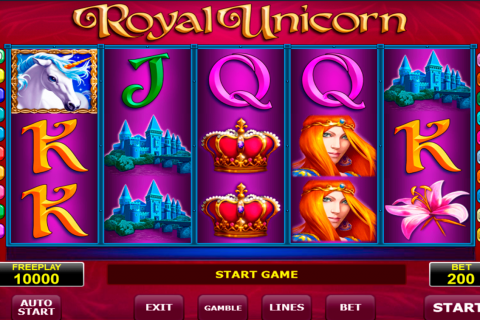 royal unicorn amatic slot