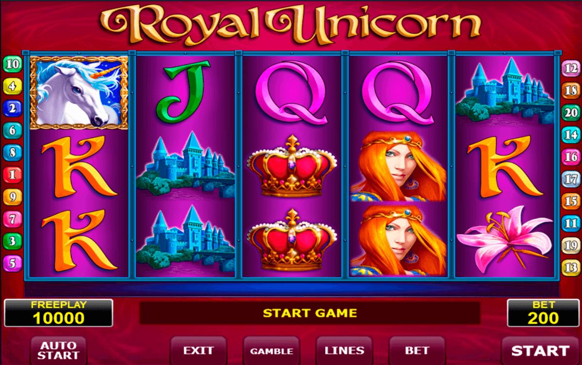 royal unicorn amatic slot
