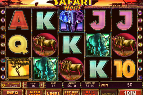 safari heat playtech slot