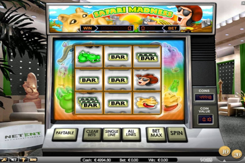 safari madness netent slot