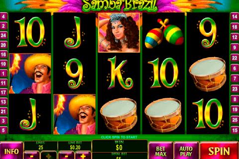 samba brazil playtech slot