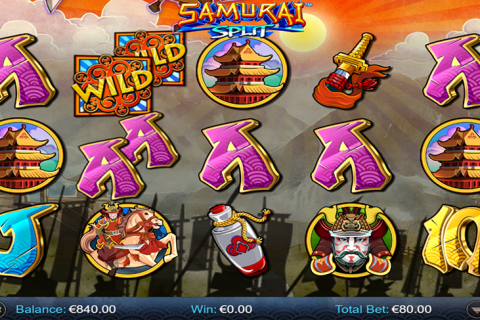 samurai split netgen gaming slot