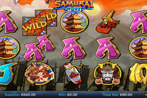 samurai split netgen gaming slot