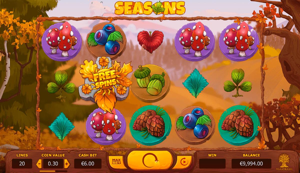seasons yggdrasil slot
