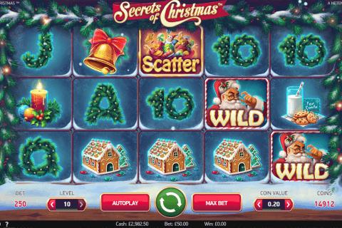 secrets of christmas netent slot