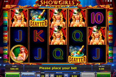 showgirls novomatic slot