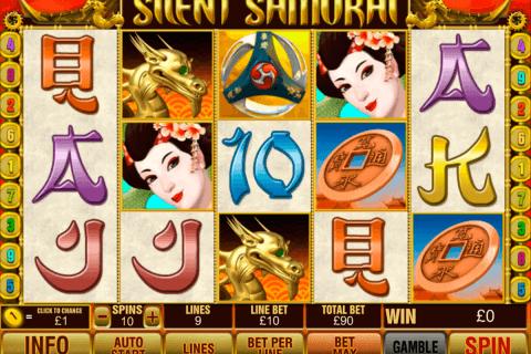 silent samurai playtech slot