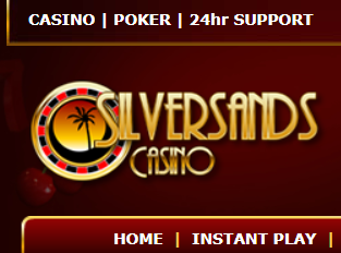 Silversands online casino support casino barge construction