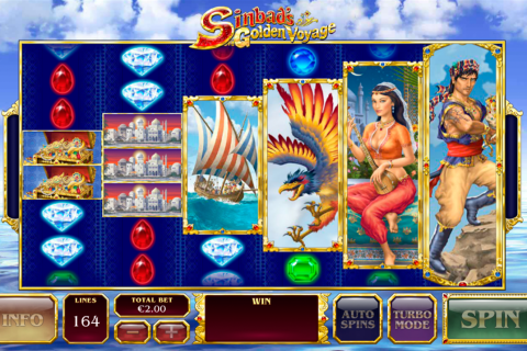 sinbads golden voyage playtech slot