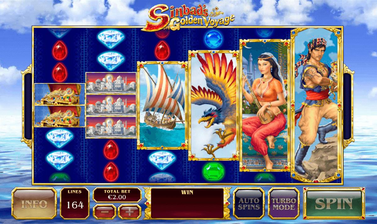 sinbads golden voyage playtech slot