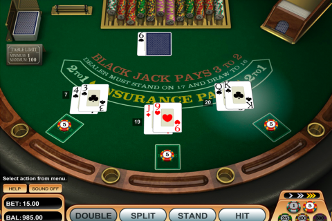 single desk blackjack betsoft online