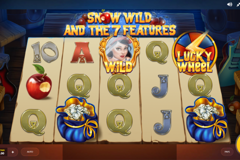 snow wild and the  features red tiger slot