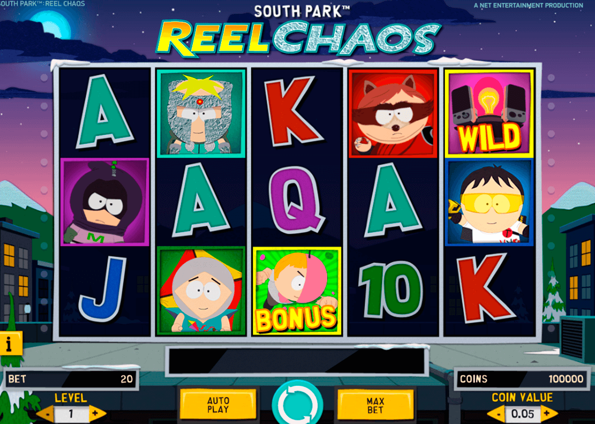 south park reel chaos netent slot
