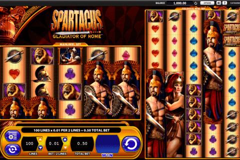spartacus wms slot