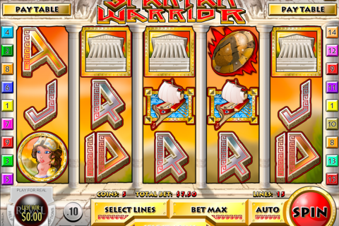 spartan warrior rival slot