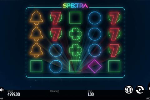 spectra thunderkick slot