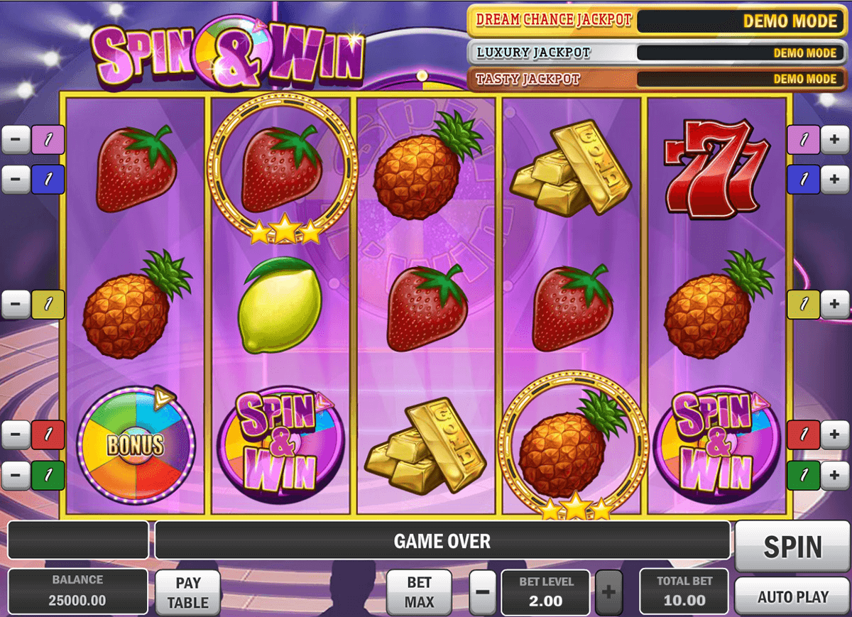 spin and win playn go slot