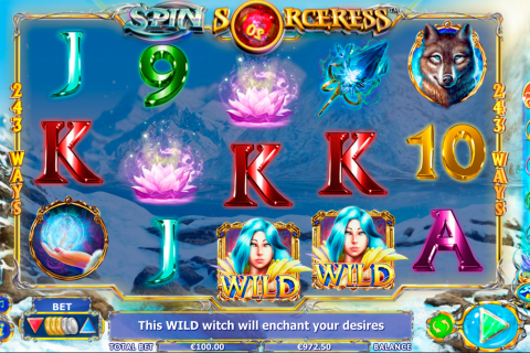 spin sorceress netgen gaming slot