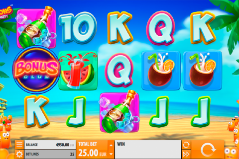 spinions beach party quickspin slot