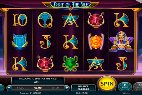 spirit of the nile nucleus gaming slot