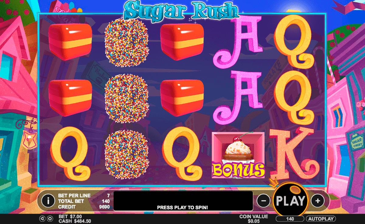 sugar rush pragmatic slot