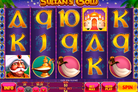 sultans gold playtech slot