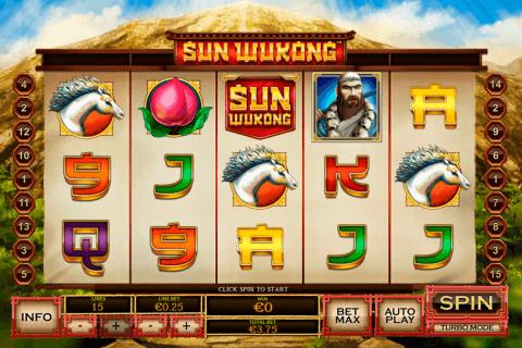 sun wukong playtech slot