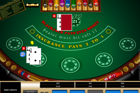 super fun  blackjack microgaming online