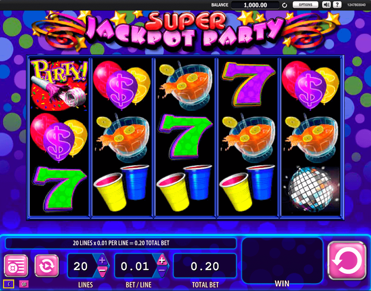 super jackpot party wms slot